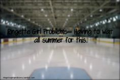 the feeling a girl gets throughout the summer time waiting for the fall to get on to the ice #ringette #ilovethissport #imissit