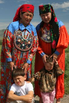 North Asia: Khakas people