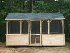 Wood Screen House Kit - Do you know Wood Screen House Kit is most likely the most popular topics on this category? That's why we're presenting this co. Outdoor Screen Room, Outdoor Screens, Outdoor Office, Outdoor Sheds, Outdoor Living, Screened Gazebo, Diy Gazebo, Gazebo Ideas, Backyard Ideas