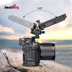 SmallRig Swivel and Tilt Monitor Mount with Nato Clamp(Both is specially designed to hold monitor onto any camera cage or mounting system features nato rail. Camera Rig, Both Sides, Camera Accessories, Tilt, Clamp, Telescope, Cinematography, Filmmaking, Monitor