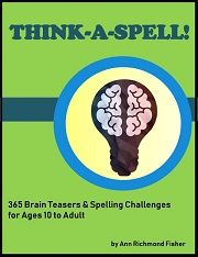 The new Think-A-Spell eBook is packed with a year's worth of tricky brain teasers and spelling challenges,for ages 10 to adults. Spelling Worksheets, Spelling Games, Spelling Practice, Spelling Activities, Hard Spelling Bee Words, 5th Grade Spelling Words, Elderly Activities, Dementia Activities, Senior Activities