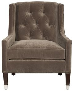 Vanguard Furniture: W168-CH - Flynn (Chair)Overall:	36H 28.5W 36D   Inside:	16H 22W 22D   Arm Height:	21.5   Seat Height:	20