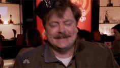 Drunk Ron Swanson Dance Gif- Imgur