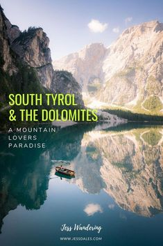 South Tyrol in the Italian Dolomites is the perfect travel destination for mountain lovers! Five-day itinerary for the Italian Dolomites and South Tyrol. Includes things to do in South Tyrol, where to stay in the Dolomites, and Dolomites hiking! Places To Travel, Places To See, Travel Destinations, Holiday Destinations, Italy Vacation, Italy Travel, Croatia Travel, Iceland Road Trip, Rome