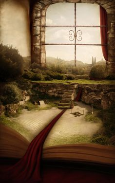 A magical adventure is set to begin. Can you imagine having a room like this? The Magic Faraway Tree, World Of Books, Book Nooks, Pics Art, Fantasy World, Fantasy Books, Urban Art, Book Lovers, Book Art