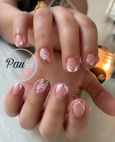 Nails Design With Rhinestones, Nail Decorations, Beauty Nails, Cilantro, Pedicure, Acrylic Nails, Nailart, Nail Designs, Work Nails