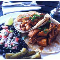 Bistro Sabor's amazing tacos! #bistrosabor #naparestaurants