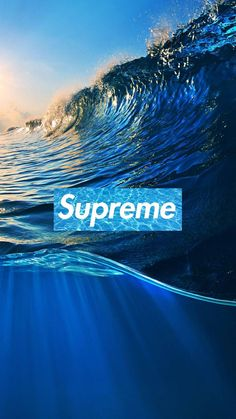 Supreme Wave Wallpaper by - 62 - Free on ZEDGE™ now. Browse millions of popular hd Wallpapers and Ringtones on Zedge and personalize your phone to suit you. Browse our content now and free your phone Supreme Wallpaper Hd, Iphone Background Wallpaper, Aesthetic Iphone Wallpaper, Cool Wallpaper, Waves Wallpaper Iphone, Aesthetic Wallpapers, Supreme Background, Mode Logos, Bape Wallpapers
