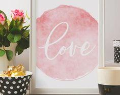 Poster Frase Amor Love