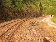 Railroad winter by Luis Sorrilha