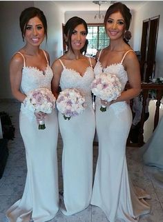 2016 New Style Bridesmaid Dress,Long Bridesmaid Gown,Ivory Bridesmaid Gowns,Mermaid Bridesmaid Dresses,Lace Bridesmaid Gowns,2016 Bridesmaid Dress,Vintage Bridesmaid Gowns With Spaghetti Straps
