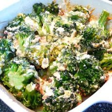 Cheesy Broccoli Casserole (Low Carb) Recipe Per Serving: 10g protein and 4g net carbs