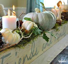 lovely Autumn vignette