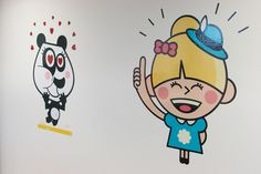 Our users love to use the stickers in messaging. We have them on our walls! Image by Tyba (http://tyba.com/company/jongla/)