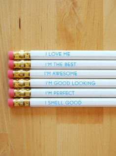 probably the coolest pencils we've ever seen