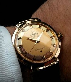 d721751b82df Superb Vintage OMEGA Constellation Grand Luxe Piepan In Rose Gold -  omegaforums.net .