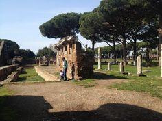 Ostia Antiga, Roma por Gísela Ude