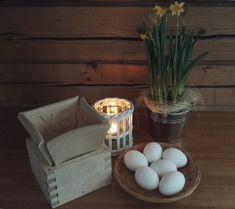 Pääsiäinen Kuusamon mökillä Eggs, Breakfast, Food, Morning Coffee, Essen, Egg, Meals, Yemek, Egg As Food
