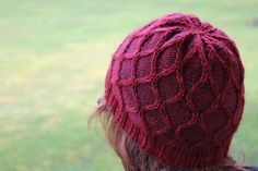 Courtyard Hat knitted by 88stitches on Ravelry