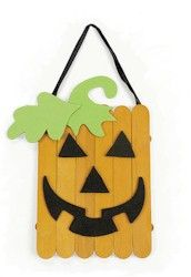 Pumpkin decorations - for kids to decorate classroom at school and at home for the kids to make at the Halloween party