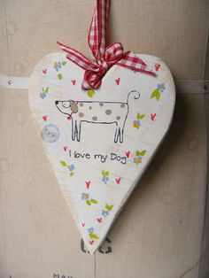 I love my Dog - will make out of clay