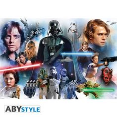STAR WARS Poster Star Wars Groupe (98x68)