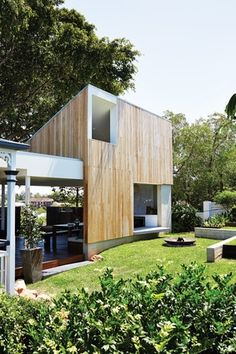 """A new """"deck"""" extension to a nineteenth-century house, by Nielsen Workshop and Morgan Jenkins Architecture channels the elements of earth, air, fire and water. Architecture Awards, Residential Architecture, Modern Architecture, Australian Interior Design, Interior Design Awards, Brisbane Architects, Arch House, Villa, Houses"""