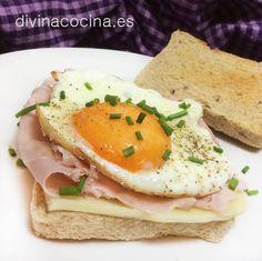 Huevos en tostadas » Divina CocinaRecetas fáciles, cocina andaluza y del mundo. » Divina Cocina
