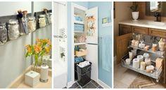 Szuper ötletek a fürdőszobai tároláshoz