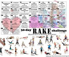 Jodi Higgs 30 day challenges - Google Search