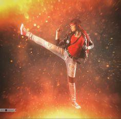 Kung Fury is a serious!-2 by Tanuki-Tinka-Asai.deviantart.com on @DeviantArt