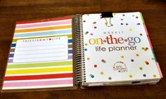 These are the best PLANNERS! Great for anyone who needs to be more organized. Especially great for moms. Great planner for ADHD!