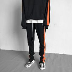 Zip Track Pants x Panel Hoodie, 5 colors available.  Choose your best outfits from @urkoolwear. High quality, best style and best price.  order at www.urkoolwear.com,  worldwide shipping.