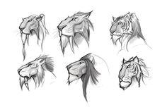 Kerra Head Studies, Dante Fuget on ArtStation at https://www.artstation.com/artwork/kerra-head-studies
