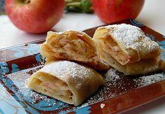 Placinta cu mere ,un desert simplude toamna,delicios si aromat . Foile sunt …