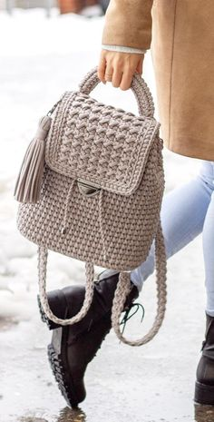 40 Free Crochet Bag Patterns and Hand Bags 2019 Page 33 of 39 2019 crochet patterns free; The post 40 Free Crochet Bag Patterns and Hand Bags 2019 Page 33 of 39 2019 appeared first on Knit Diy. Crochet Backpack Pattern, Free Crochet Bag, Bag Pattern Free, Crochet Poncho Patterns, Crochet Tote, Crochet Handbags, Crochet Purses, Knitting Patterns, Diy Sac