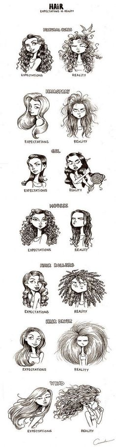Hair Styles. Interesting And Real Fact. Nestle And Hair.: