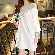 Buy Cloud Nine Mock Two-Piece Long-Sleeved Dress at YesStyle.com! Quality products at remarkable prices. FREE WORLDWIDE SHIPPING on orders over US$35.