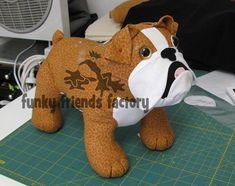 Lots of DOG sewing patterns! Teddy Bear Sewing Pattern, Softie Pattern, Doll Sewing Patterns, Dog Pattern, Sewing Toys, Sewing Crafts, Sewing Projects, Pattern Design, Felt Crafts Diy