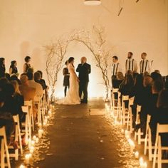 a beautiful new years eve wedding with vintage details.