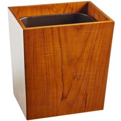 Selamat Designs Captain's Wastebasket - Varnished Teak By ($225) ❤ liked on Polyvore featuring home, bed & bath, bath, bath accessories, bathroom accessories, teak bathroom accessories, selamat designs and teak bath accessories