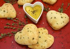 "I Love You Focaccia Bread - a super fun treat for Valentines or any day you want to say ""I love you""!"