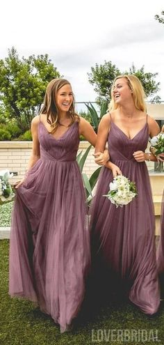 Spaghetti Straps Dusty Rose Long Bridesmaid Dresses Online, Cheap Bridesmaids Dresses, WG732 Mismatched Bridesmaid Dresses, Bridesmaid Dresses Online, Wedding Bridesmaid Dresses, Cheap Wedding Dress, Wedding Party Dresses, Bridal Dresses, Bridesmaids, Spaghetti Strap Dresses, Spaghetti Straps