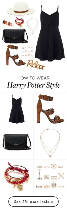 """""""Little Black Dress"""" by lunaly123 on Polyvore featuring Alexander Wang, Miss Selfridge, Janessa Leone, New Look, Michael Kors and NYX"""
