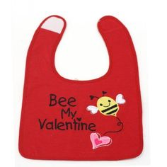 My First Valentine? Baby Bib