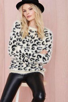 Hear Me Roar Sweater | Shop Sweaters at Nasty Gal