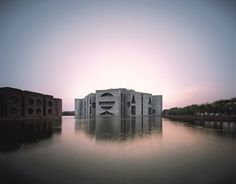 National Assembly Building in Dhaka Bangladesh by Louis Kahn | Yellowtrace