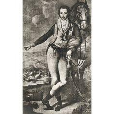 Francisco Solano Y Ortiz De Rozas Marques Del Socorro Y De La Solana 1768 - 1808 Spanish Military Officer From Guerra De La Independencia Published 1935 Canvas Art - Ken Welsh Design Pics (12 x 19)