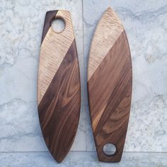 Pair is skate decks  By Martin Byers@thanku.ca  Design for luxury cruising