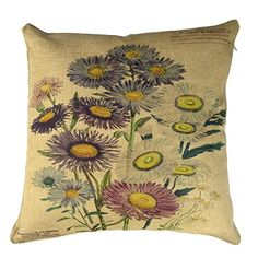Buankoxy 18 inch Cotton Linen Square Pillow Cover Decorative Cushion Case Pillowcase Daisy Buankoxy http://www.amazon.com/dp/B00L9AZS3O/ref=cm_sw_r_pi_dp_jln0vb0BVDFJ9